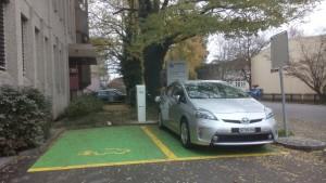 Stromtankstelle: Technische Betriebe, Kreuzlingen