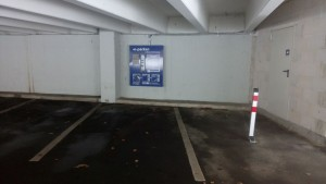Stromtankstelle: Parkhaus Süd, Uni Konstanz