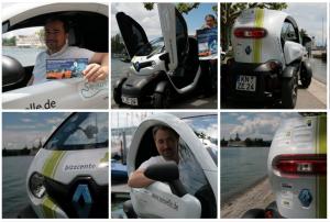 eCar-Sharing: Renault Twizy ZE, Konstanz